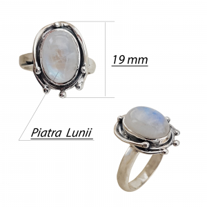 Inel Argint cu Piatra Lunii [1]