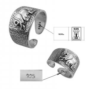 Inel Argint 925% reglabil Jumbo [1]
