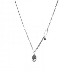 Colier Argint 925% cu o inima incoronata [0]