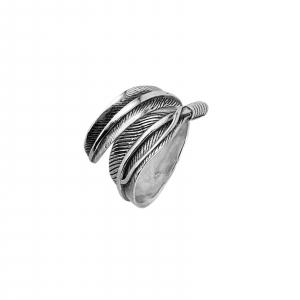 Inel Argint 925% reglabil Vintage Leaf [0]
