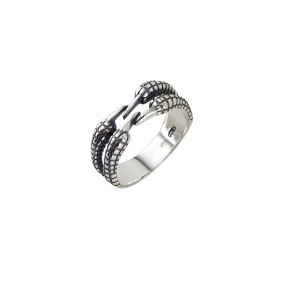 Inel Argint 925% reglabil Ivory [0]