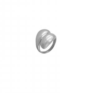 Inel din Argint 925% simplu, reglabil [0]