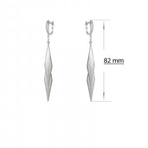 Cercei Argint 925% lungi Blade [2]