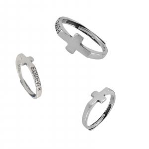 Inel Argint 925% in forma de cruce [1]