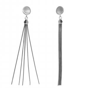 Cercei Argint 925% lungi din 5 fire [1]
