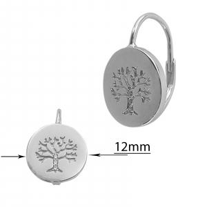 Cercei Argint 925% Copacul Vietii [2]
