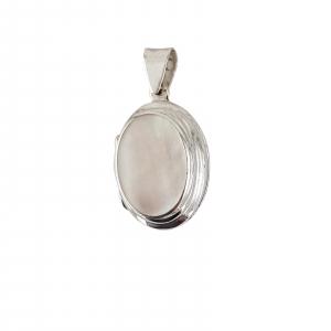 Medalion Argint 925% de forma ovala care se deschide [1]