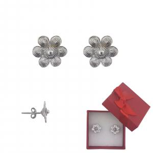 Cercei Argint ,petale ,model 2357 [0]