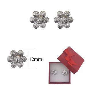 Cercei Argint ,petale ,model 2357 [2]