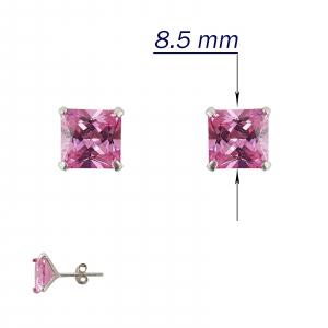 Cercei Argint 925% Pink Clasic [1]