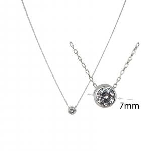 Colier Argint si cubic zirconia, cod 2422 [1]
