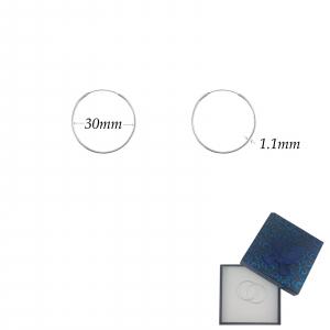 Creole Argint cu diametrul de 30mm, cod 2488 [1]