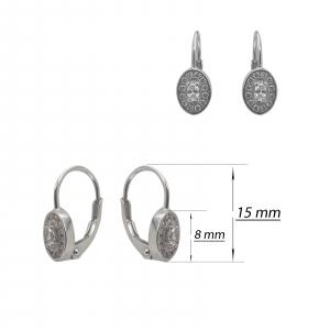 Cercei Argint 925% ovali [1]