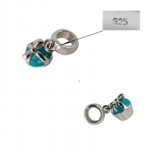 Talisman Argint 925% Aqua Wow [1]