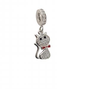 Talisman Argint 925% Kitty Cat [0]