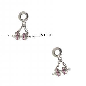 Talisman Argint 925% Pink Power [2]