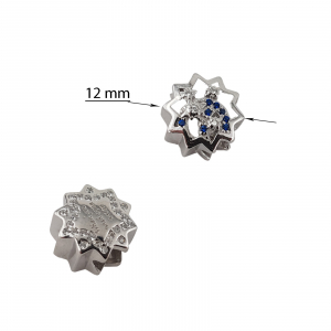 Talisman Argint 925% cu zirconia albastre [1]