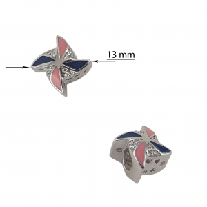 Talisman Argint 925% Color Windmill [2]