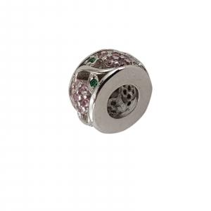 Talisman Argint 925% Pink Flower [1]