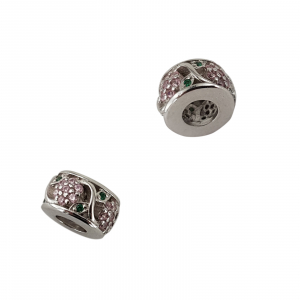 Talisman Argint 925% Pink Flower [2]