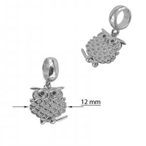 Talisman Argint 925% Little Owl [2]
