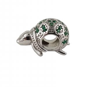 Talisman Argint 925% Green Turtle [0]