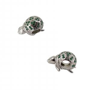 Talisman Argint 925% Green Turtle [1]