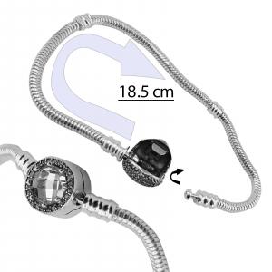 Bratara Argint 925% charm pentru talismane [2]