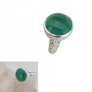 Inel Argint cu Onix verde cod 2330-ONXV [0]