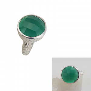 Inel Argint cu Onix verde cod 2330-ONXV [1]