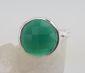 Inel Argint cu Onix verde cod 2330-ONXV [2]