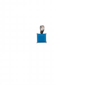 Medalion Argint 925% cu turcoaz 2118B [0]