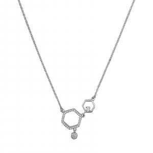 Colier Argint 925% cu zirconia alb [0]