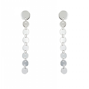 Cercei Argint 925% Shining Circles [0]