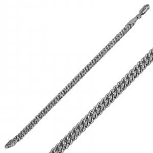 Bratara Argint 925% barbati placata cu rodiu [1]