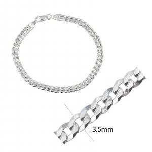 Bratara din Argint 925% ,grumetta flat 2000-22-35 [1]