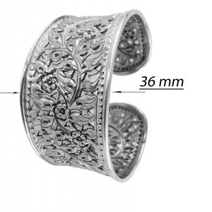 Bratara fixa Argint 925% hand-made, Eternity [4]
