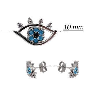 Cercei Argint 925% Blue Eyes [2]