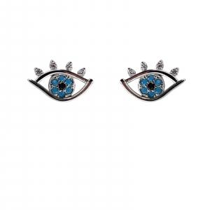 Cercei Argint 925% Blue Eyes [0]