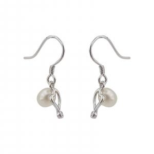 Cercei cu perla de cultura din Argint 925% [1]