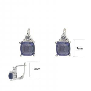 Cercei Lavender din Argint 925% [3]