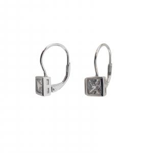 Cercei din Argint 925% cu zirconiu 2046 [1]