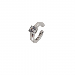 Cercei ear cuff din argint 925% si cubic zirconia [0]