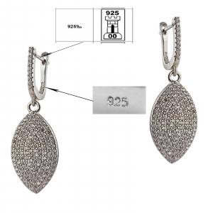 Cercei Argint 925% clasici si eleganti [3]