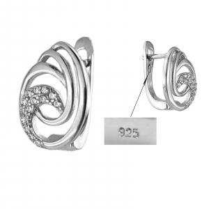 Cercei Argint 925% Curl [2]