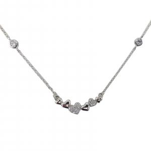 Colier Argint 925% , inimoare cu zirconiu 1839 [0]