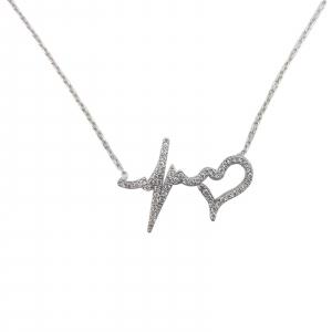 Colier Argint zirconiu 1655 [0]