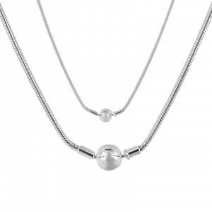 Colier Argint 925% cu inchizatoare rotunda [1]