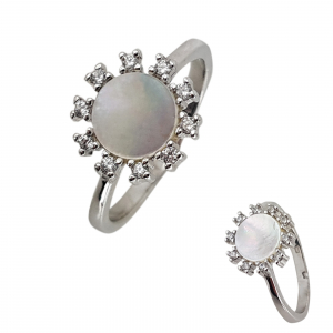 Inel Argint 925% cu sidef [1]