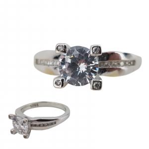 Inel Argint 925% si cubic zirconiu 1871 [0]